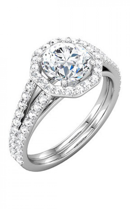 Stuller Halo Engagement ring 121881 product image