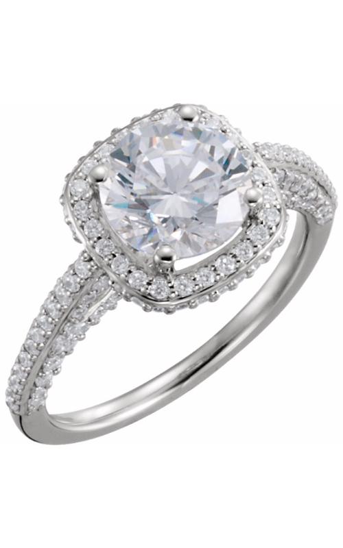 Stuller Halo Engagement ring 121892 product image