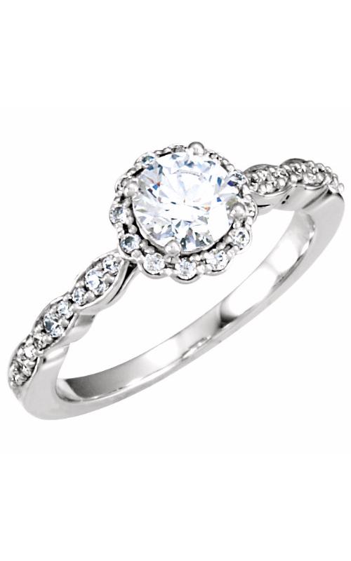 Stuller Halo Engagement ring 121589 product image