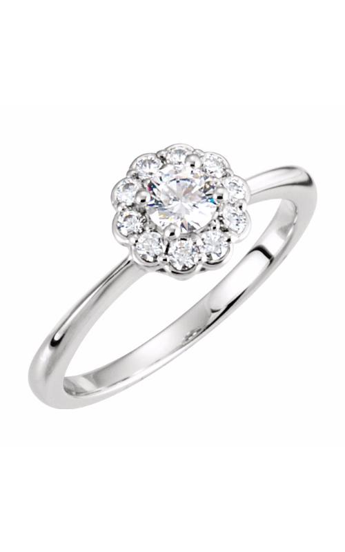 Stuller Halo Engagement ring 121703 product image