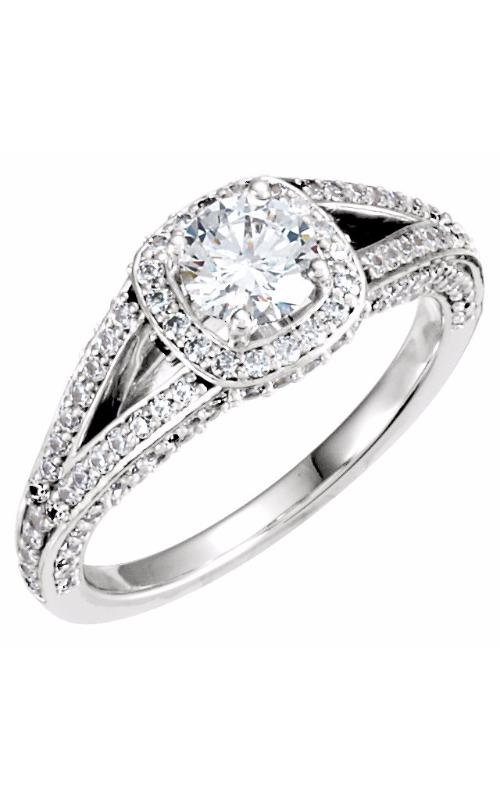 Stuller Halo Engagement ring 121680 product image