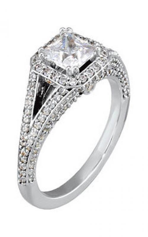Stuller Halo Engagement ring 121686 product image