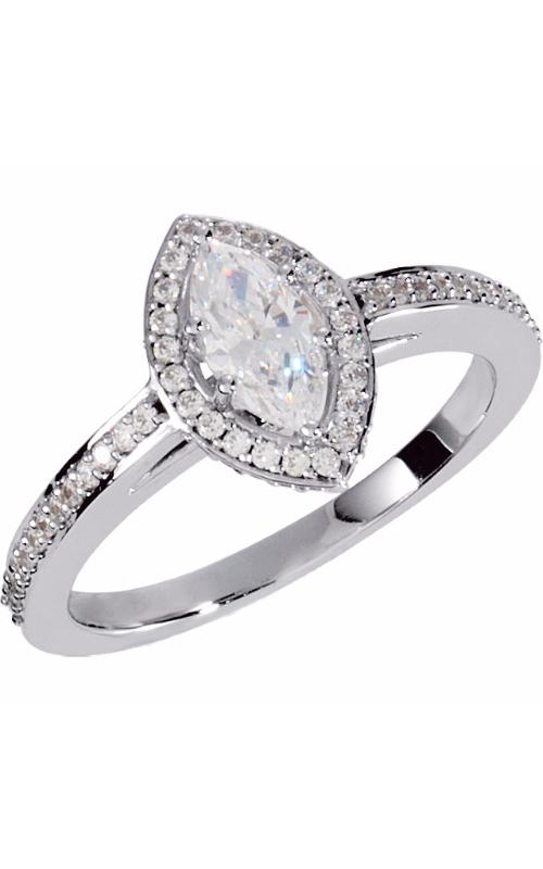 Stuller Halo Engagement ring 121631 product image