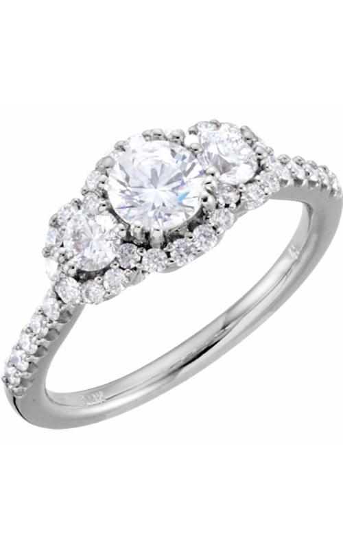 Stuller Three Stones Engagement ring 67390 product image