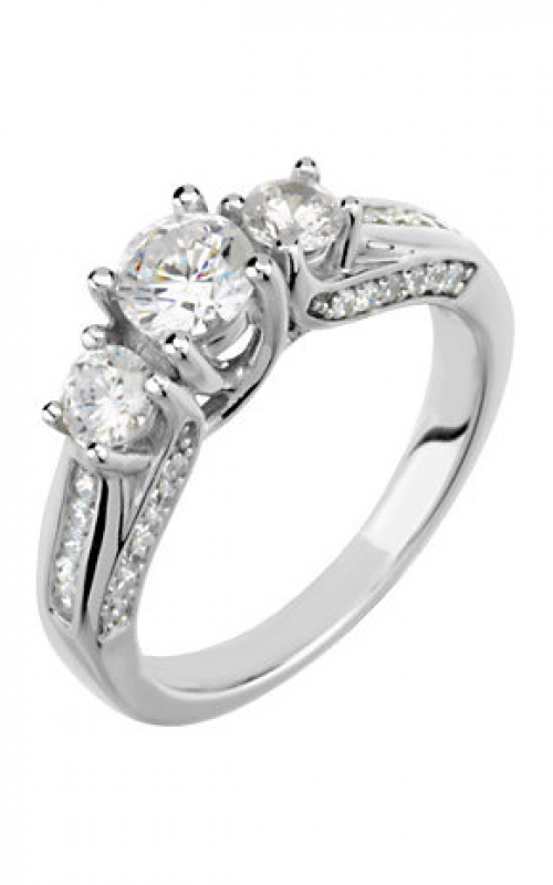 Stuller Three Stones Engagement ring 64738 product image