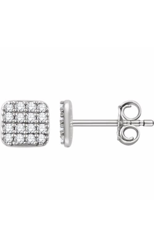 Stuller Diamond Fashion Earrings 651834 product image