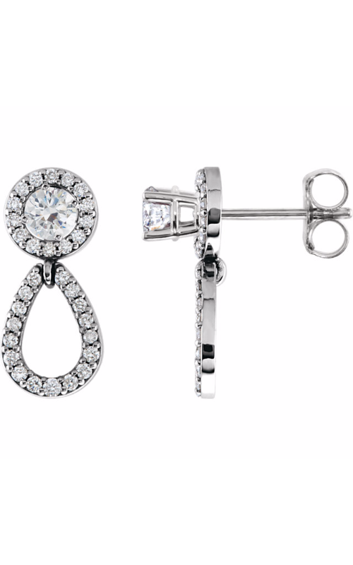 Stuller Diamond Fashion Earrings 85763 product image