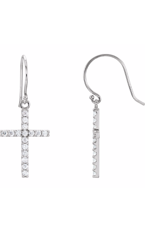 Stuller Religious and Symbolic Earrings R17010 product image