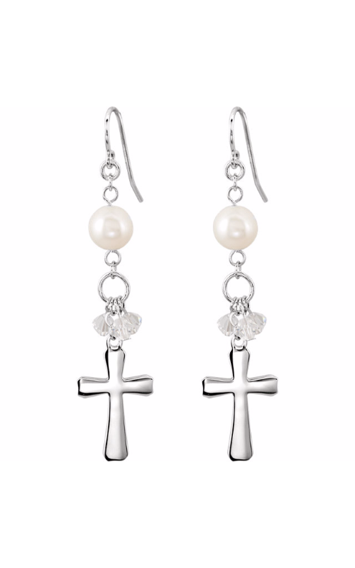 Stuller Religious and Symbolic Earrings 650822 product image