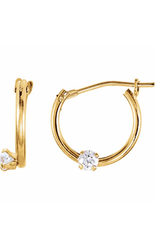 Stuller Youth Earrings 19105 product image