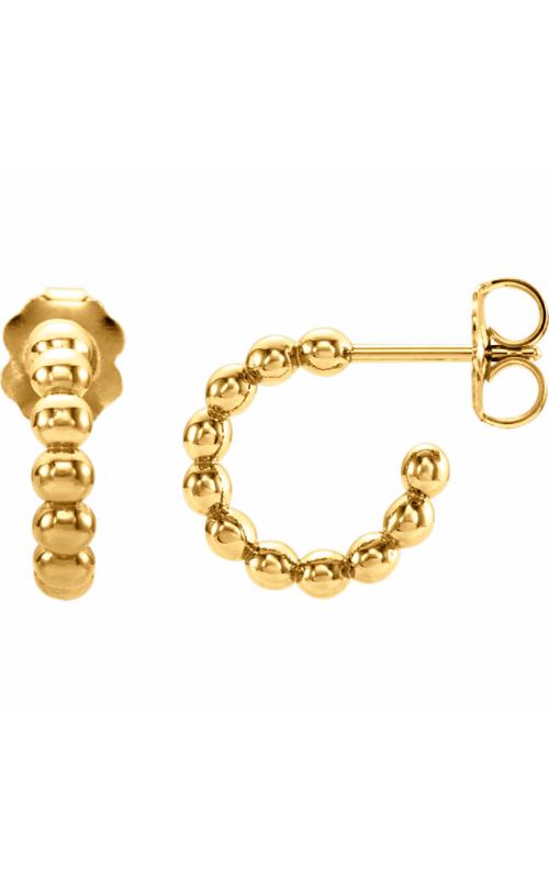 Stuller Metal Fashion Earrings 86095 product image