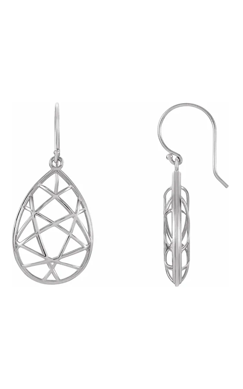 Stuller Metal Fashion Earrings 86100 product image
