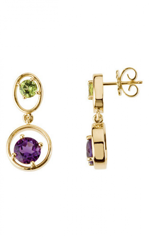 Stuller Gemstone Fashion Earrings 67478 product image