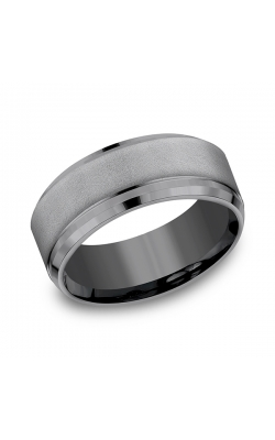 Tantalum Comfort-fit Design Wedding Band CF69486TA10.5 product image