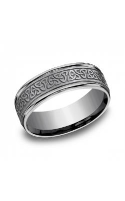 Tantalum Comfort-fit Design Wedding Band RECF847357GTA12 product image