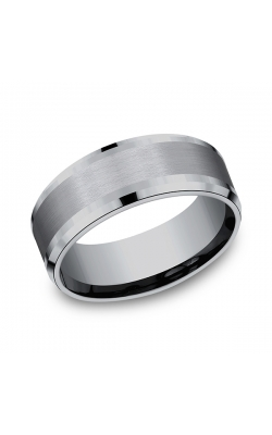 Grey Tantalum Comfort-fit wedding band CF128010GTA06 product image