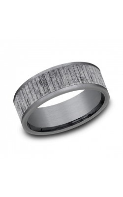 Grey Tantalum Comfort-fit wedding band CF848630GTA09 product image