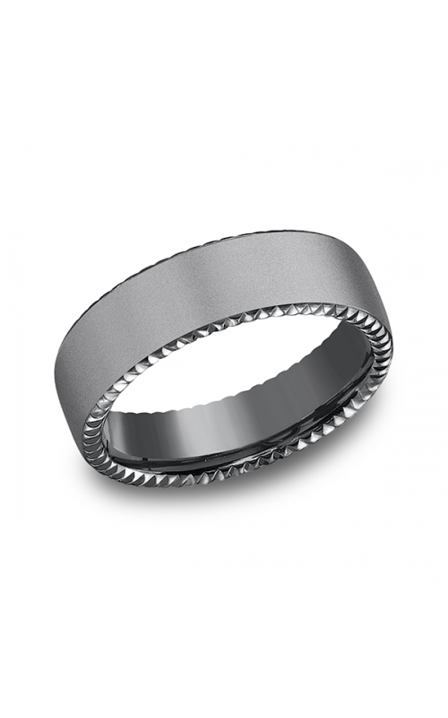 Tantalum Comfort-fit Design Wedding Band CF716525TA14 product image