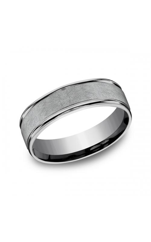Grey Tantalum Comfort-fit wedding band RECF86585GTA06 product image