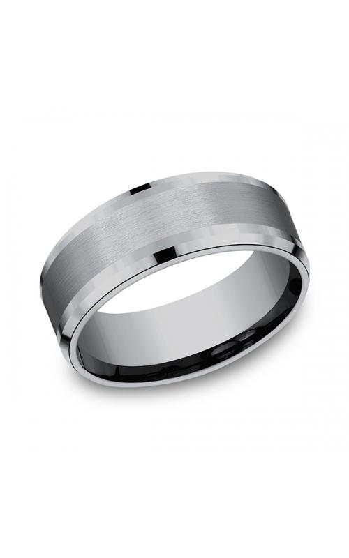 Grey Tantalum Comfort-fit wedding band CF128010GTA06 product image