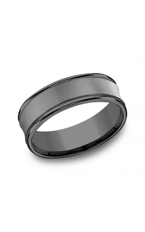 Tantalum Comfort-Fit wedding band RECF87500TA06 product image