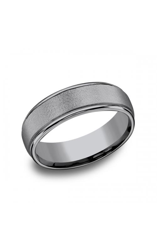 Grey Tantalum Comfort-fit wedding band RECF7602GTA06 product image