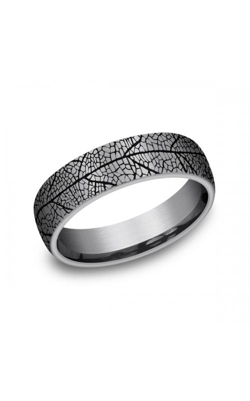 Grey Tantalum Comfort-fit wedding band CFBP8465613GTA06 product image