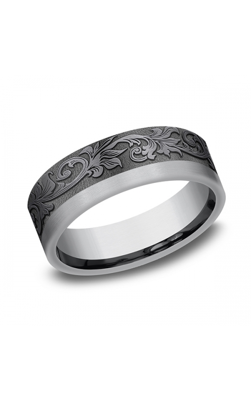 Tantalum Comfort-fit wedding band 025TA7391GTA06 product image