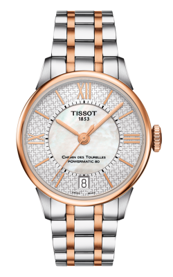 Tissot Chemin Des Toureless Powermatic 80 Lady T0992072211801