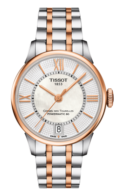 Tissot Chemin Des Toureless Powermatic 80 Lady T0992072211802