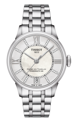 Tissot Chemin Des Toureless Powermatic 80 Lady T0992071111600