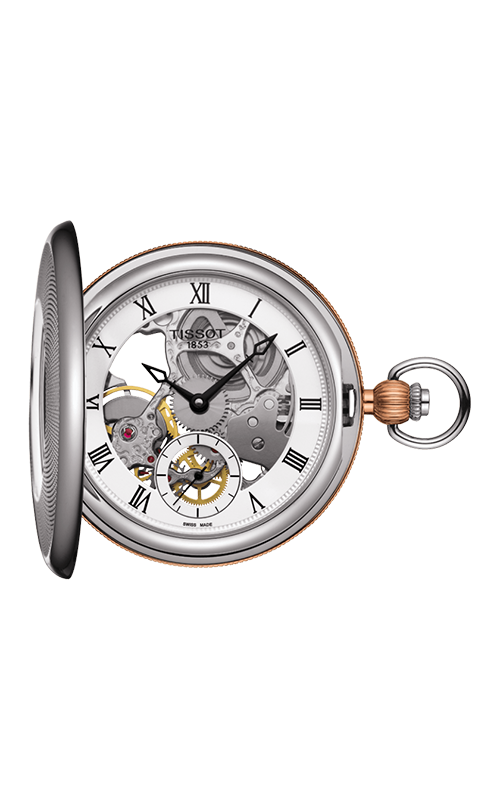 Tissot Pocket Mechanical Skeleton T8594052927300