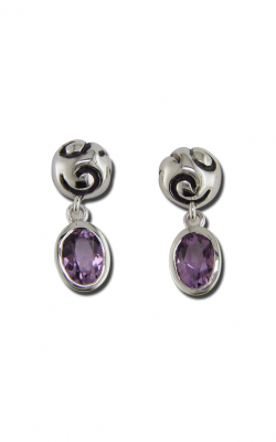 Zina Swirl Earrings B1237-A product image