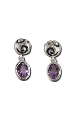 Zina Swirl Earrings B1237-A product image