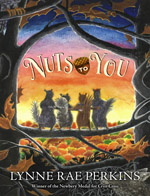 cover for Nuts to You by Lynne Rae Perkins