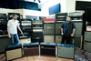 Kris and Stephan love their amps.