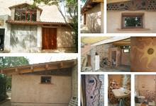 Caseta de Palla. Rehabilitació i Ampliació d'una caseta amb palla i fang i material reciclat_4