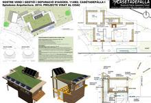 Habitatge bioclimàtic a Rubí amb bales de palla i sostre verd_0
