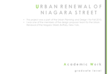 Urban Renewal of the Niagara Street, Buffalo, New York_5