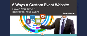 6 Ways A Custom Event Website Saves You Time & Improves Your Event