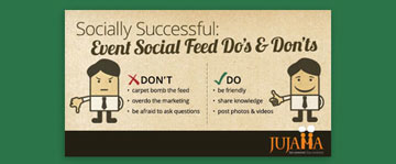 Socially Successful: Event Social Feed Do's & Don'ts