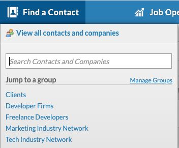 Groups for recruiters