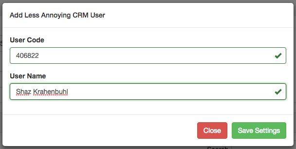 Entering UserID into FONREACH