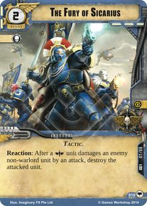 The Fury of Sicarius