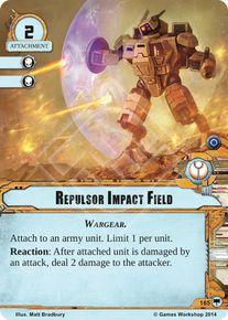 Repulsor Impact Field