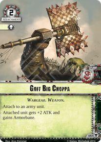 Goff Big Choppa