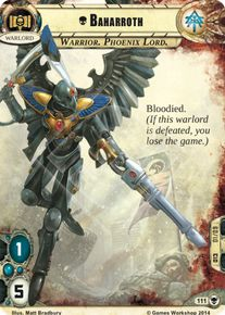 Warhammer 40000 Conquest LCG Baharroth Descendants of Isha Squad