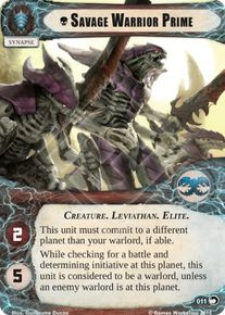 Savage Warrior Prime