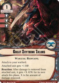 Great Scything Talons