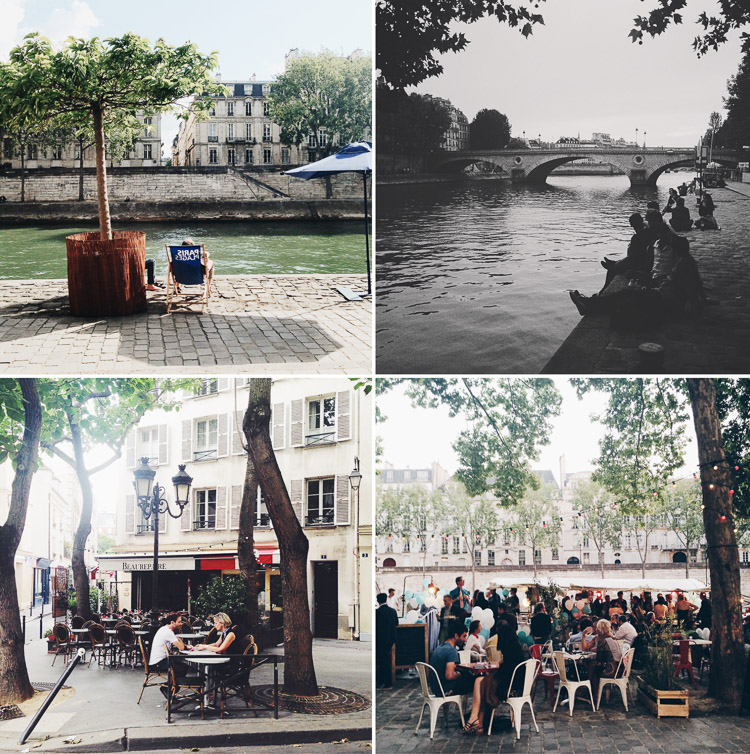 August in Paris